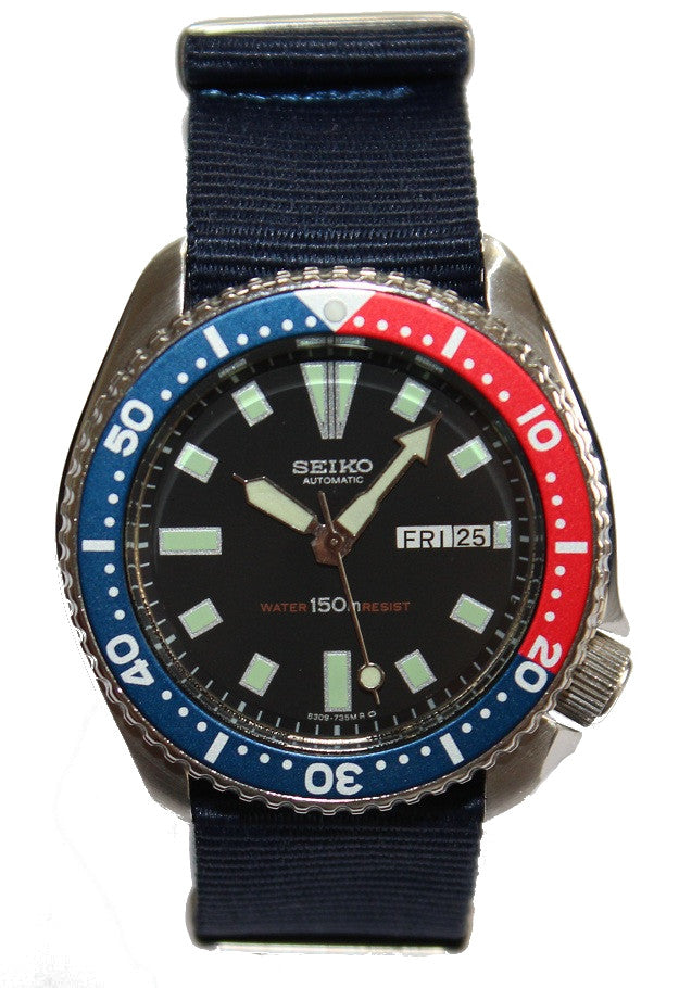 fhmdraft deep diver index protac watch watches blue