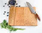 Cherry Cutting Board with