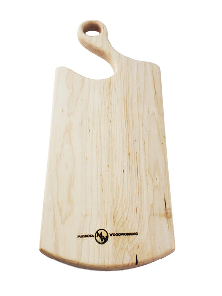 All Purpose Cheese Board - Maple - Muskoka Woodworking