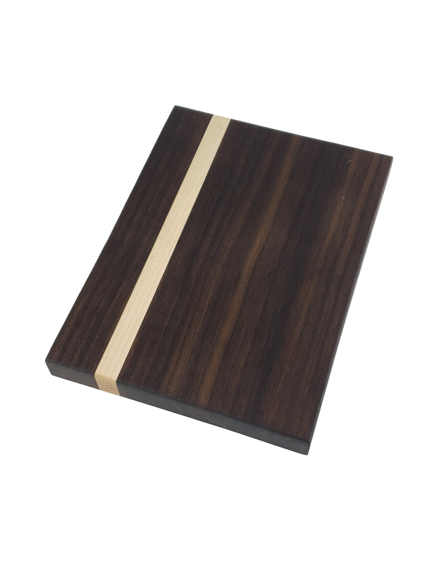 Bar Chopping Board Series - Walnut with Maple Accent - Muskoka Woodworking
