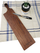 Contemporary Bread Board - Walnut - Muskoka Woodworking