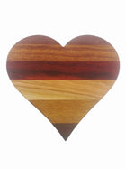 Exotic Heart Cheeseboard - Muskoka Woodworking