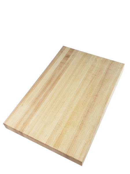 Professional Series Edge Grain Cutting Board - Maple - Muskoka Woodworking