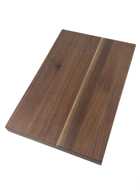 Professional Series Edge Grain Cutting Board - Walnut - Muskoka Woodworking