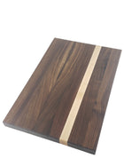 Walnut with Maple Accent Cutting Board - Muskoka Woodworking