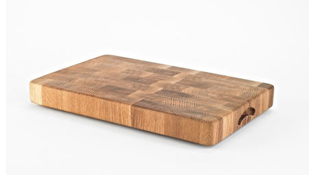 Oak Endgrain Cutting Board - Muskoka Woodworking