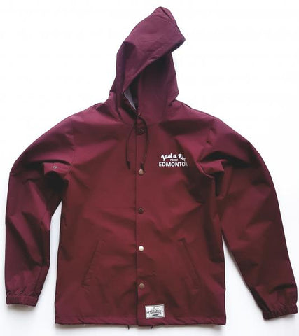 Just A Kid Jacket - Burgundy