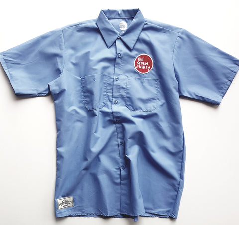 Tse Workshirt Light Blue