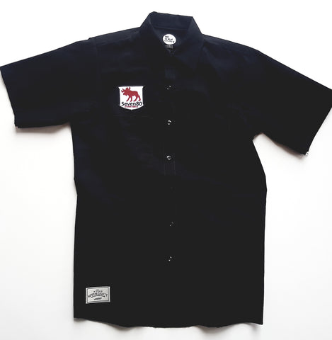 Beverly Workshirt Black