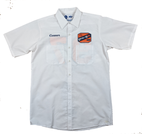 Mns Employee #97 Shirt - White