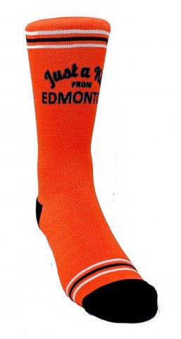 Just A Kid from Edmonton Sock