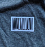 Barcode OTH Ladies tee - Charcoal