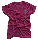 Barcode OTH Ladies tee - Fuschia