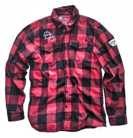The Eastside Flannel - red check