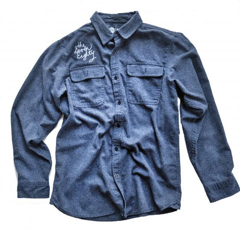The Eastside Flannel - blue