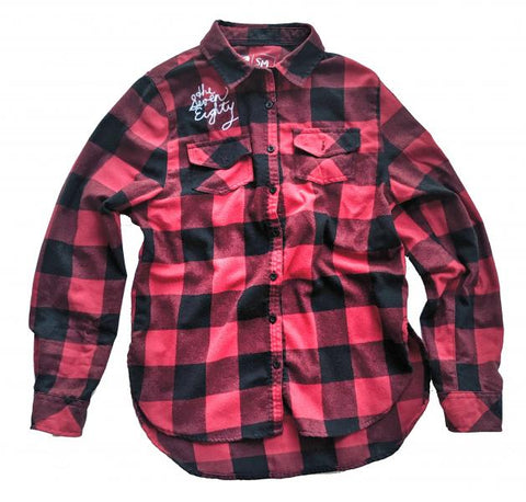 Wmns Eastside Flannel - red check