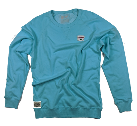 Sinclair French Terry Crew - Aqua