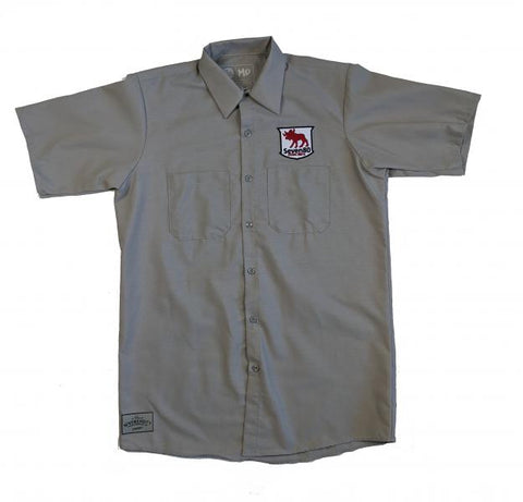 Beverly Workshirt - Light Grey