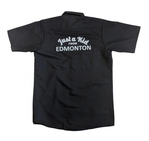 Just A Kid Workshirt - Black