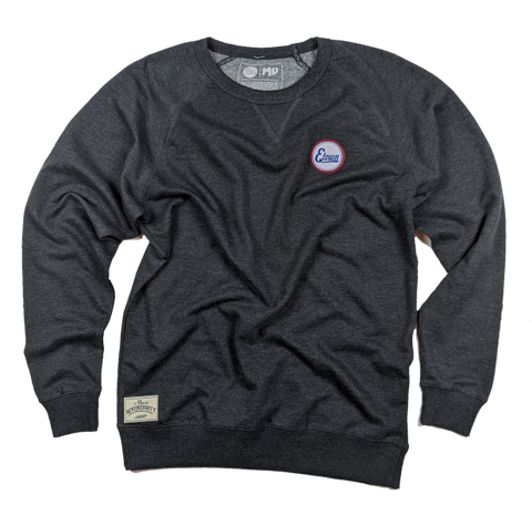Circle Town French Terry Crew - Charcoal