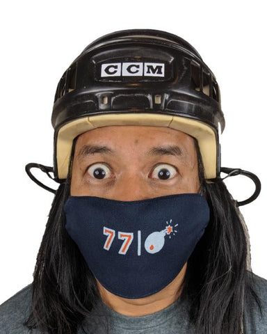 77 The Bomb Facemask