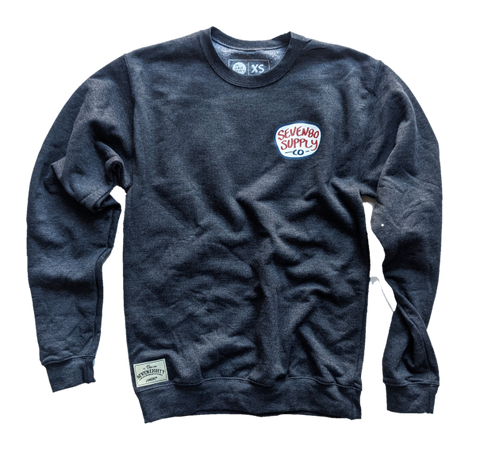 EASY CREW - SUPPLY CO. DARK CHARCOAL