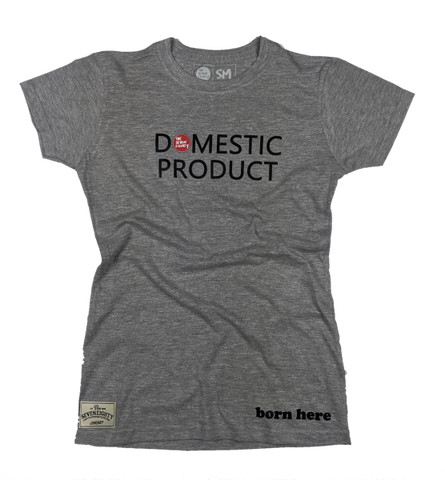 Wmn's Domestic Product tee