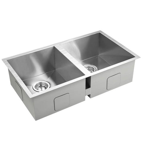 ... Legendary 50/50 Stainless Steel Sink By Castle Bay Sinks   Hotfaucets  ...