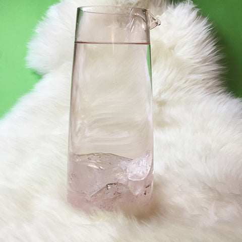 Crystal infused water