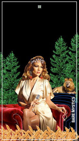 JLO as The Empress Tarot