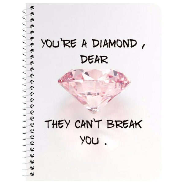 Can't Be Broken Notebook