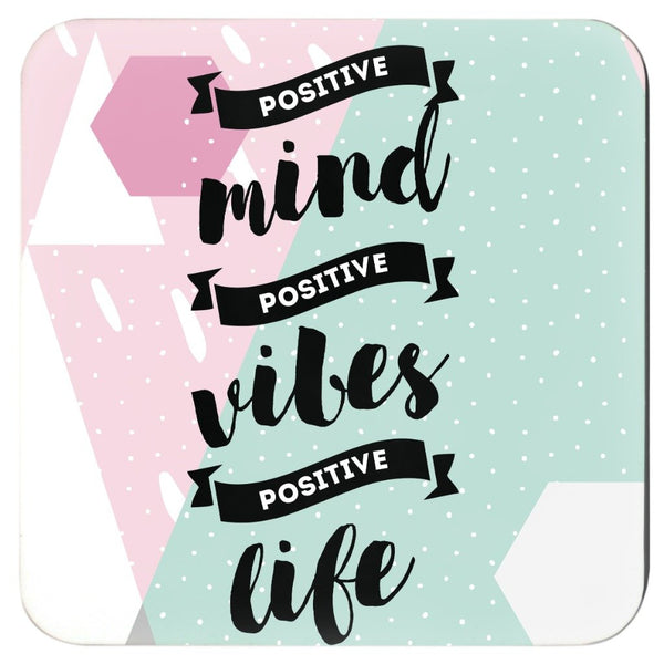 Positivity Coasters- Set of 4