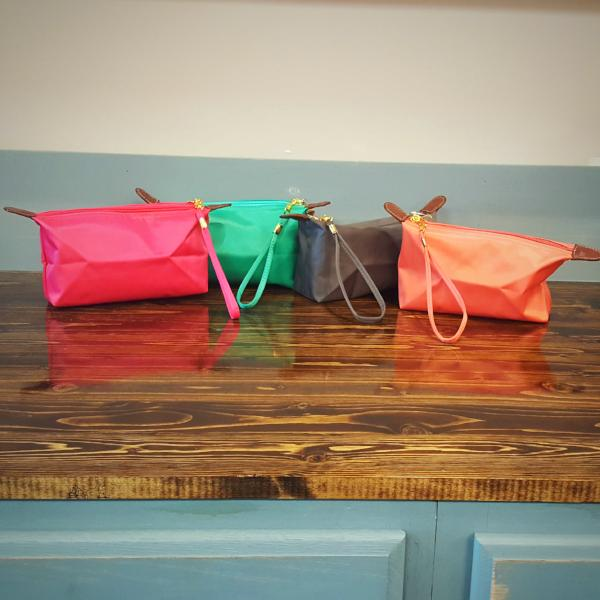 Monogrammable Nylon Fabric Cosmetic Bag - Southern Native