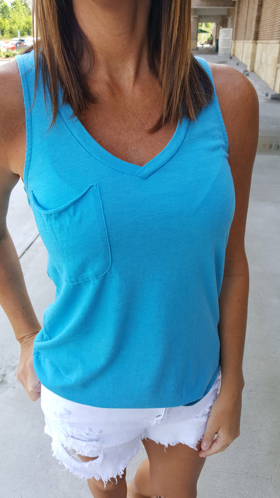 The Pocket Racer Tank - Multi Colors - Southern Native
