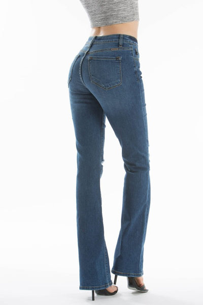 Distressed Flare Jeans - Southern Native