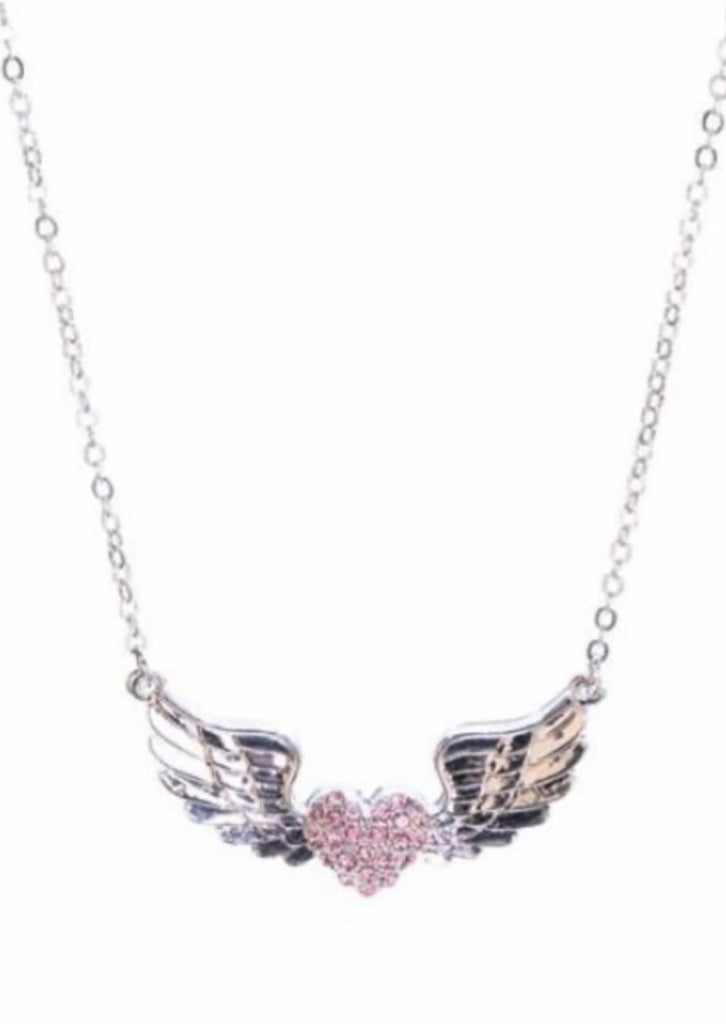 Heart w/Wings Necklace