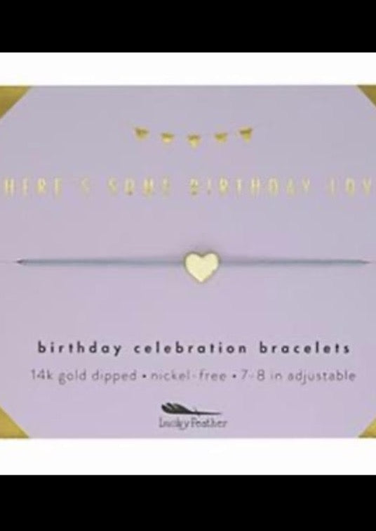 Birthday Celebration Bracelets - Many Options Available - Southern Native