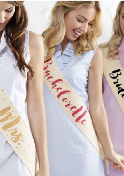 Canvas Wedding Sashes - Southern Native