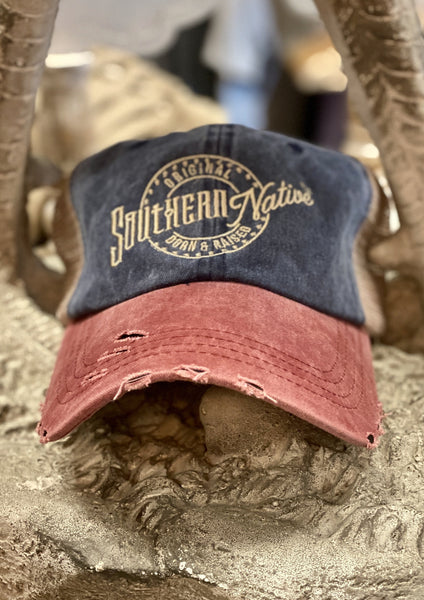 Born and Raised Trucker Hat - Southern Native