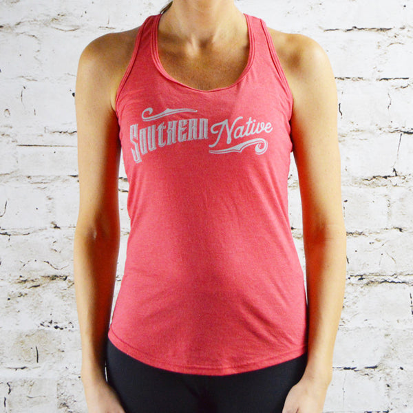 SN: Racerback Tank - Heathered Red - Southern Native