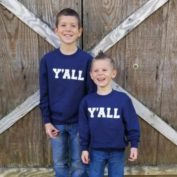 SN: Youth Y'ALL Sweatshirt