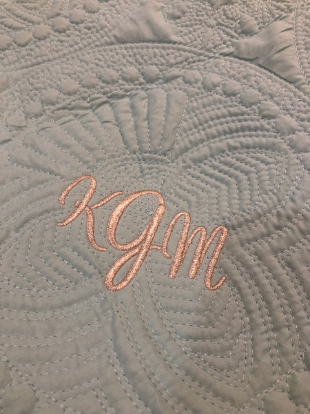 Baby Quilt w/Monogram - Southern Native