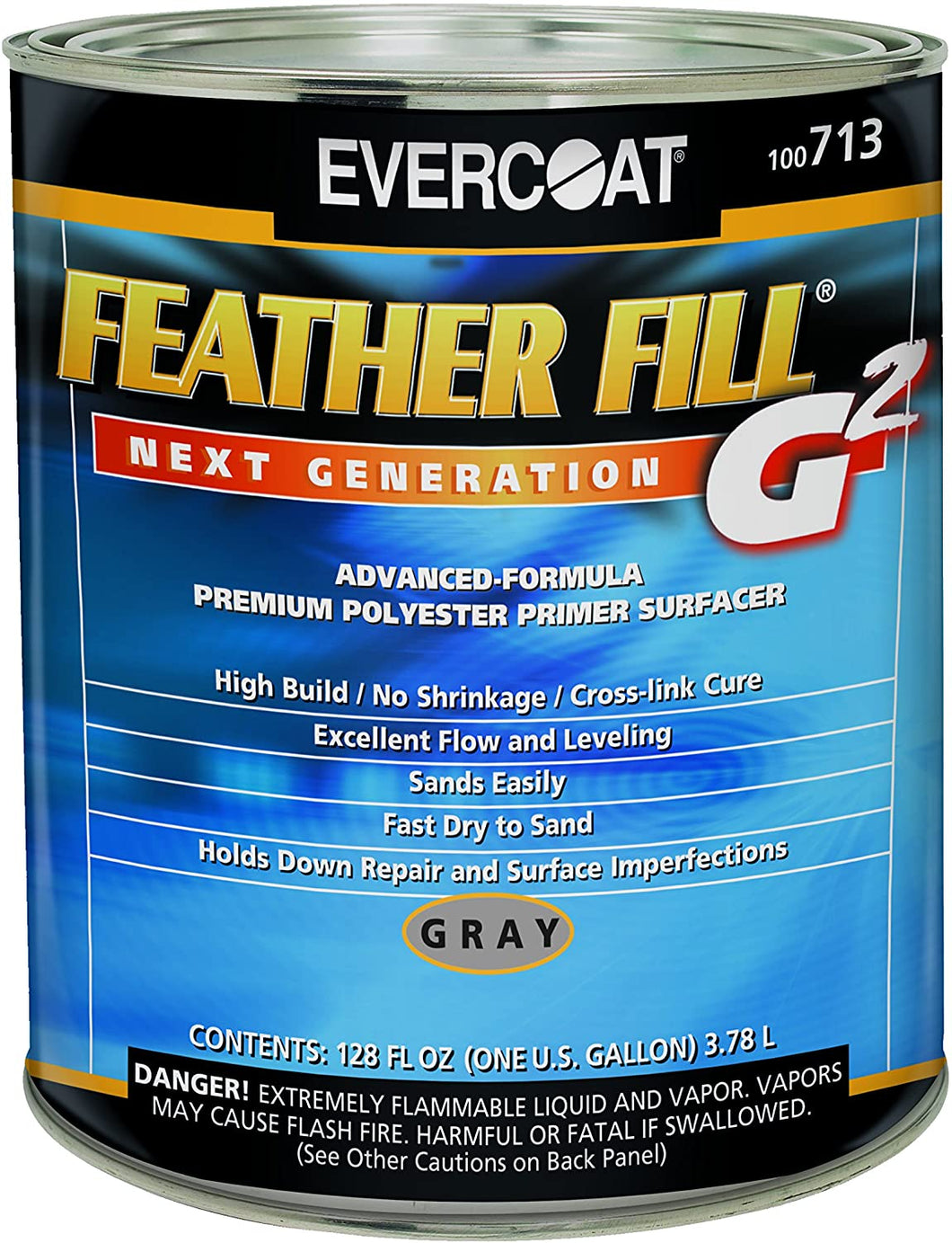 Evercoat 713 Gray Feather Fill G2 Primer - 1 Gallon