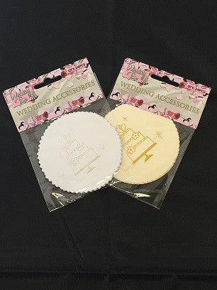 Wedding Coasters 24 Pack