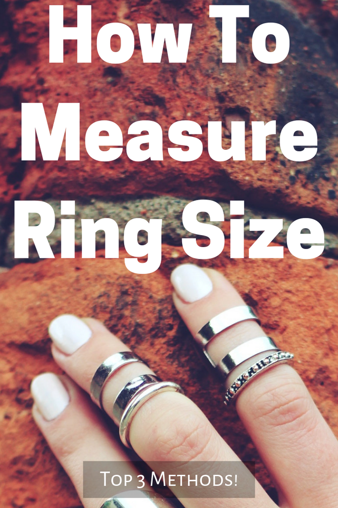 How To Measure Ring Size (Top 3 Methods!)