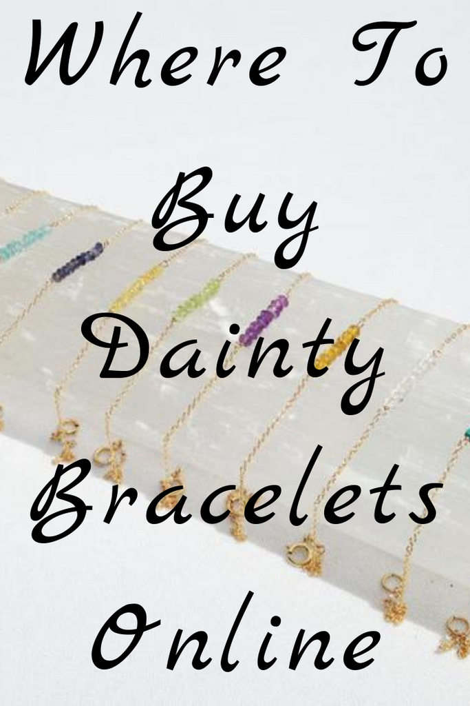 Where To Buy Dainty Bracelets Online (All The Top Stores!)