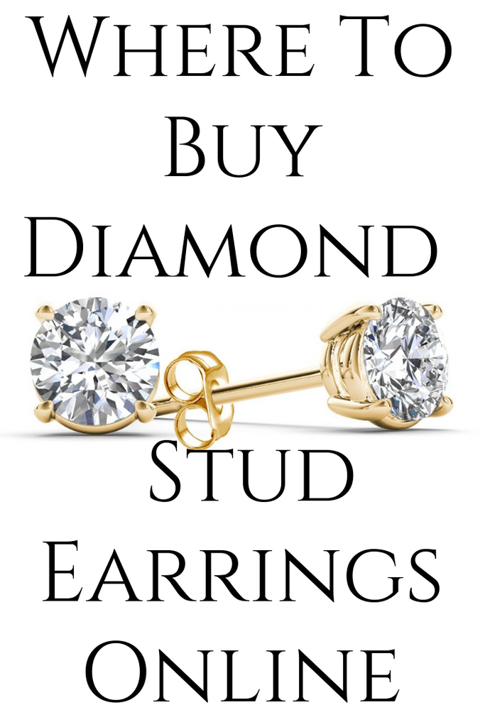 Where To Buy Diamond Stud Earrings Online
