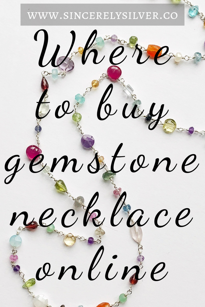 Where To Buy Gemstone Necklace Online (Your Complete Guide!)