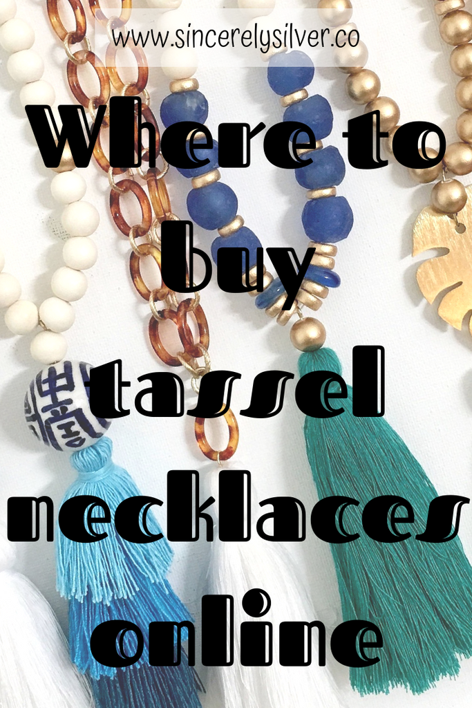 Where To Buy Tassel Necklaces Online (Top 7 Online Jewelry Stores!)