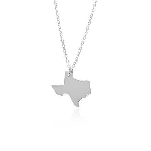 State And Country Necklaces